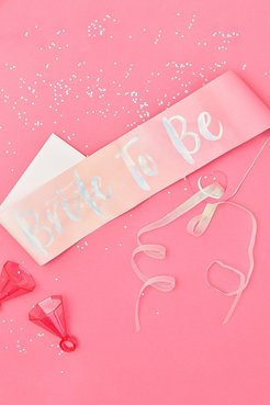 Ginger Ray Bride To Be Sash - Pink - One Size