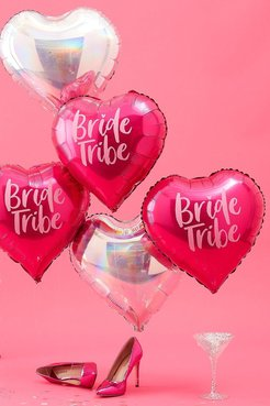 Ginger Ray Bride Tribe Foil Balloons - Pink - One Size