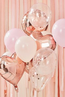 Ginger Ray Rose Gold Balloon Bundle - Pink - One Size