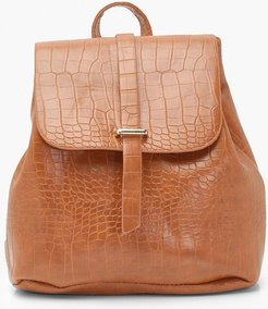 s Croc Tab Rucksack - Brown - One Size