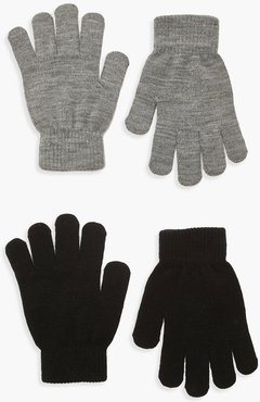 s 2 Pack Magic Gloves - Grey - One Size