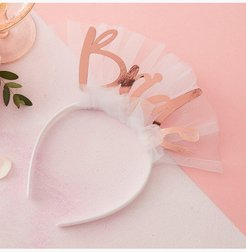 Ginger Ray Bride Headband - White - One Size