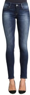 Adrianna Faded Jeans