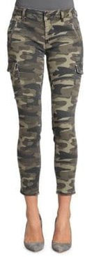 Juliette Military Camouflage Cargo Jeans