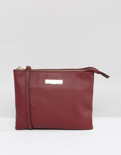 Rolo Crossbody Bag - Red
