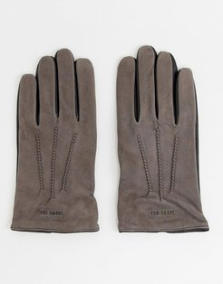 Balo gloves in suede - Gray