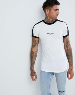 Muscle T-Shirt In White - White