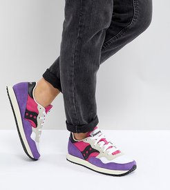 Dxn Vintage Sneakers In Pink and Purple - Yellow