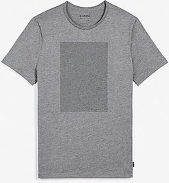 Gray Outlined Logo Graphic T-Shirt Gray Men's S