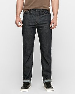 Slim Straight Dark Wash Stretch Jeans, Men's Size:W31 L30