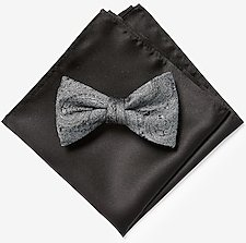 Paisley Bow Tie & Pocket Square Gift Set