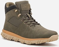 Reserved Footwear New York Darnell Mid-Top Sneaker Boots Green Men's 12