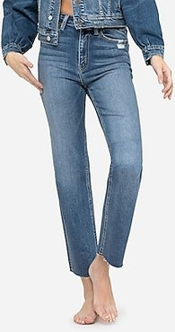 Flying Monkey Super High Waisted Straight Jeans, Women's Size:27
