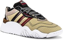 Turnout Trainer Sneaker in Neutral,Red