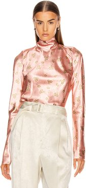 Never Together Top in Floral,Pink