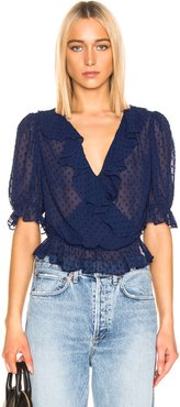 Cha Cha Blouse in Blue