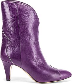 Dythey Boot in Purple