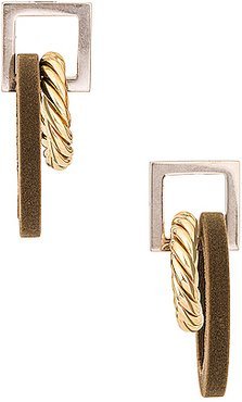 Les Boucles Albi in Metallic Gold