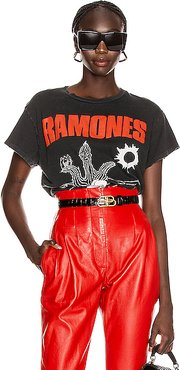 Ramones Loco Live Crew Tee in Black,Novelty