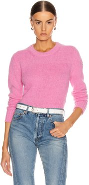 Tricot Sweater in Pink