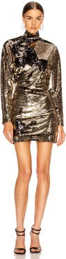 Ansel Dress in Metallic