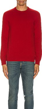 Cashmere Sweater in Red