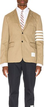 Unconstructed Classic Blazer in Neutral