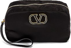 Large Cosmetic Case in Black