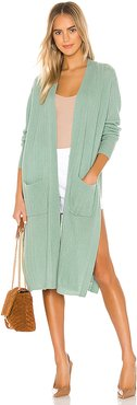 Thea Cardigan in Sage. - size S (also in XS,M,L)