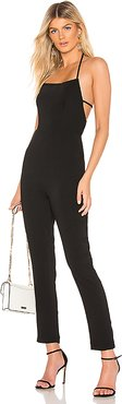 Sofie Jumpsuit in Black. - size XL (also in L)