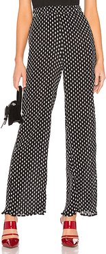 Charlie Wide Leg Pants in Black & White. (also in XS)