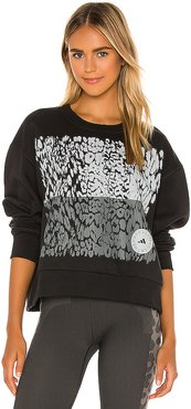 Graphic Sweatshirt in Black. - size M (also in L,S,XS)