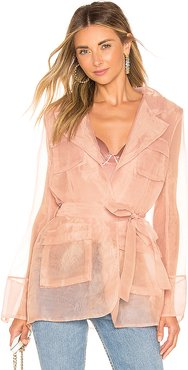 Felicie Suit Jacket in Pink. - size S (also in XS)