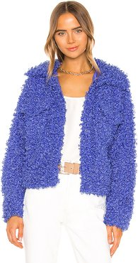 Tiffany Jacket in Blue. - size L (also in M,S,XS)
