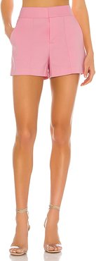 Dylan High Waist Short in Pink. - size 10 (also in 0,2,4,6,8)