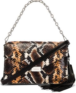 Miki Sliver Crossbody in Brown.