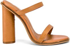 Amina Mule in Tan. - size 38 (also in 37)