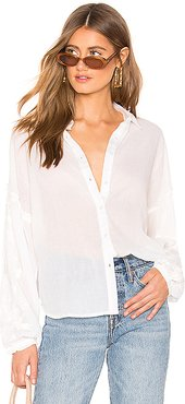 Everyday Love Top in White. - size L (also in S,XS)
