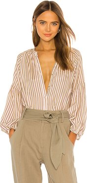 Nanook Button Down in Blush. - size 2 (also in 0)
