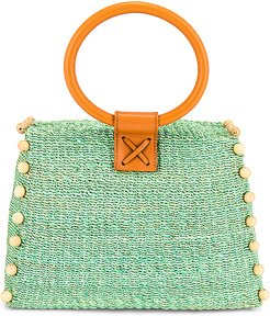 Perry Mini Tote in Green.