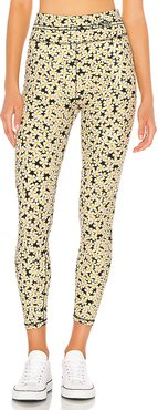 Hi Rise Legging in Yellow. - size M (also in L,S,XS)