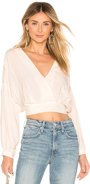 Jaise Top in White. - size M (also in L,S)