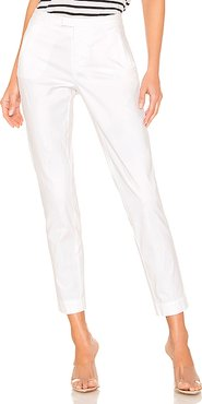 Enzyme Wash Slim Pant in White. - size 4 (also in 0,2)