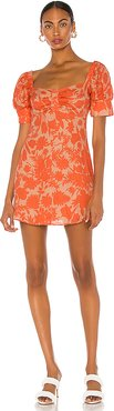 Pilou Dress in Orange. - size XS (also in S,M,L)