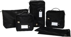 The Lingerie Packing Cube Set in Black.