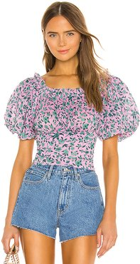 Anna Top in Pink. - size L (also in M,S,XS)
