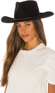 Jenkins Cowboy Hat in Black. - size L (also in M,S,XS)