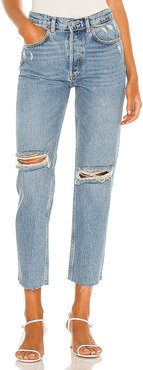 The Tommy Straight Leg Jean in Blue. - size 26 (also in 23,24,25,27,28,29)