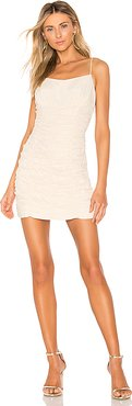 Ended Up Here Mini Dress in Cream. - size L (also in M)