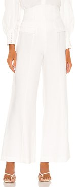 Lie Awake Pant in Ivory. - size M (also in L,S,XS)